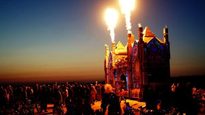 Burning Man Capa