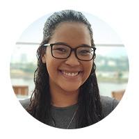 Cindyneia Ramos Cantanhêde, uma das delegadas brasileiros do Youth AG Summit