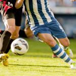 Ação de futebol (Imagem/Reprodução: Deposit Photos)