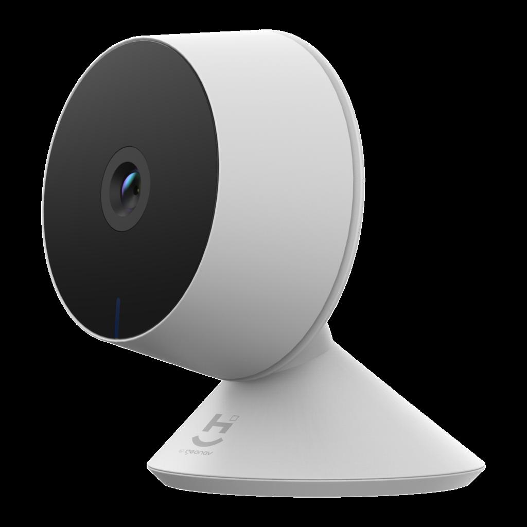 A câmera de segurança grava em até Full HD e é capaz de registrar no escuro