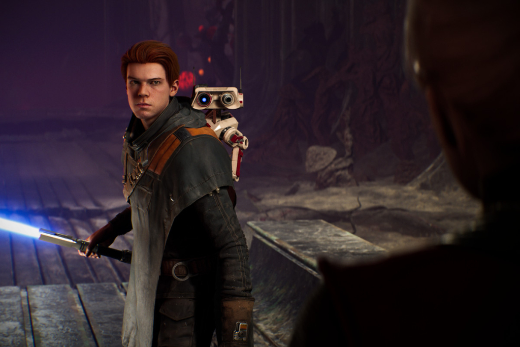 Cal e seu robô, mesmo que simples, são os personagens que conseguem levar a história simples adiante