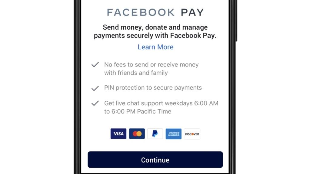 Sistema de pagamentos do Facebook aceita a maioria das bandeiras de cartões e o PayPal