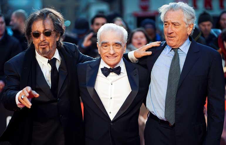 Pacino, De Niro e Scorsese: parceria resultou em obra madura e revitalização na carreira de todos em O Irlandês