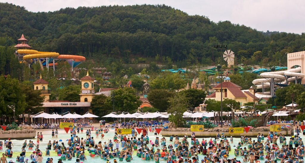 Everland Resort é o maior parque temático da Coreia do Sul