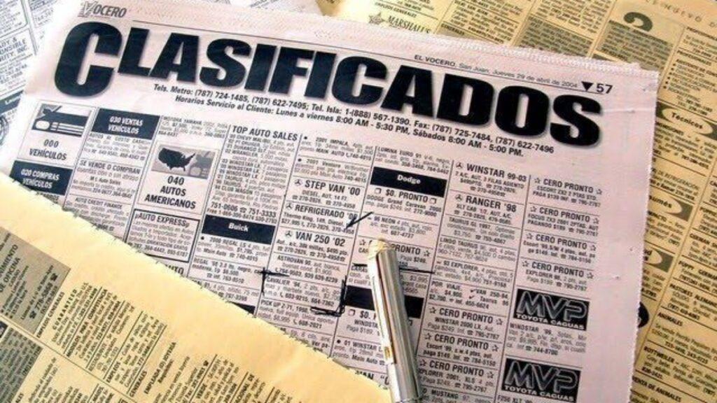 Uma das formas mais usadas na procura da casa própria era procurar no jornal