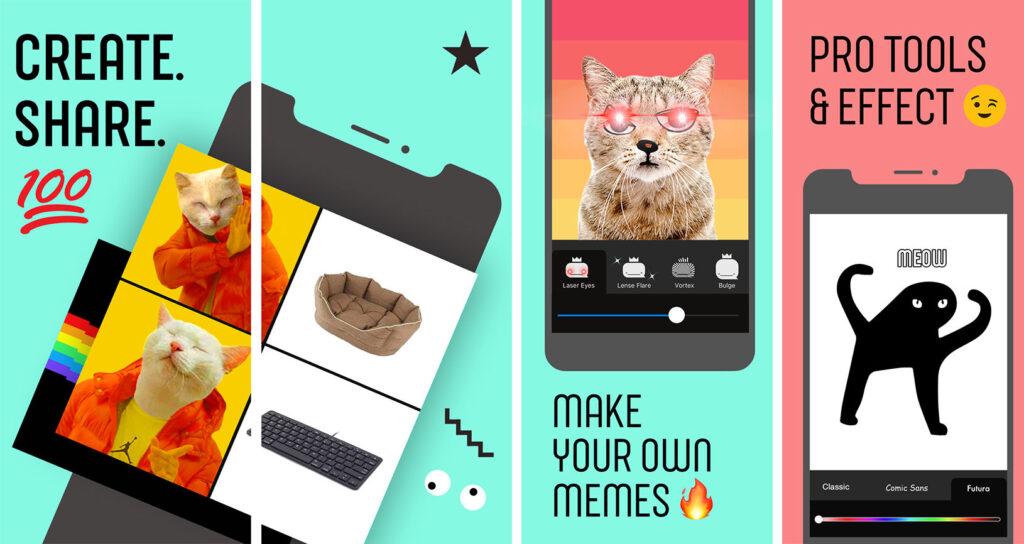 Whale é o aplicativo do Facebook criado para que os usuários façam seus próprios memes