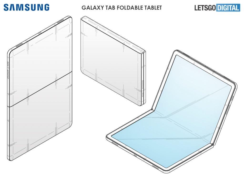Patente do galaxy tab dorbável publicado pela let's go digital