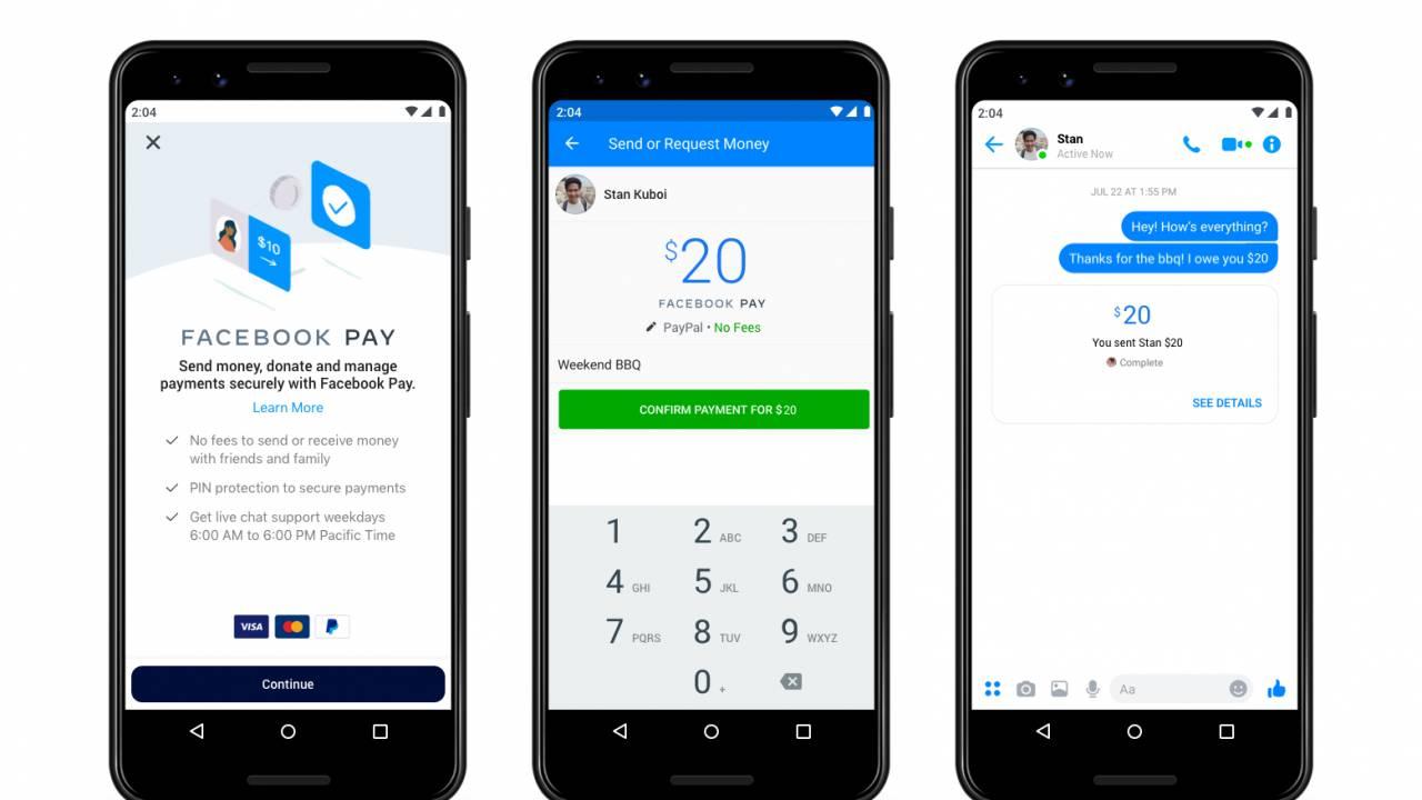 Facebook Pay é o novo sistema de pagamentos para WhatsApp, Instagram e Facebook