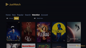 justwatch série filme streaming