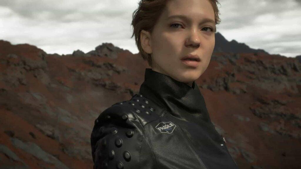 Léa seydoux é uma popular atriz francesa e vive fragile em death stranding