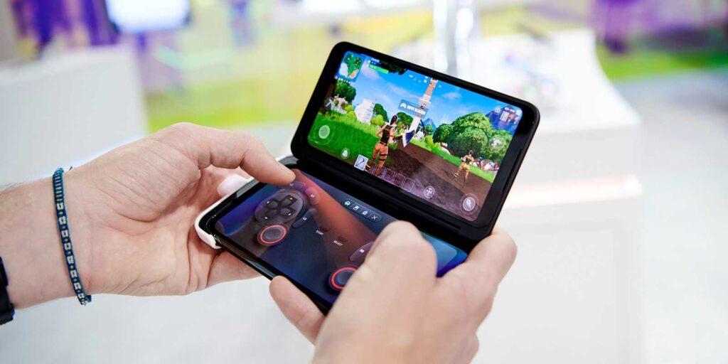 A tela secundária do LG G8X ThinQ pode se transformar em um joystick