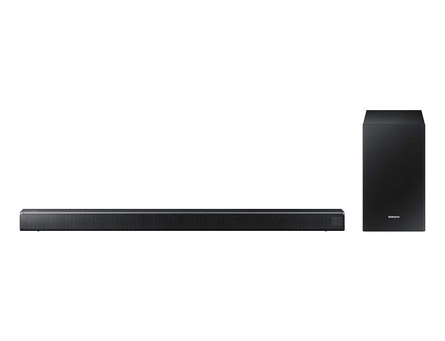 Soundbar Samsung HW-R550 para conectar à smart tv