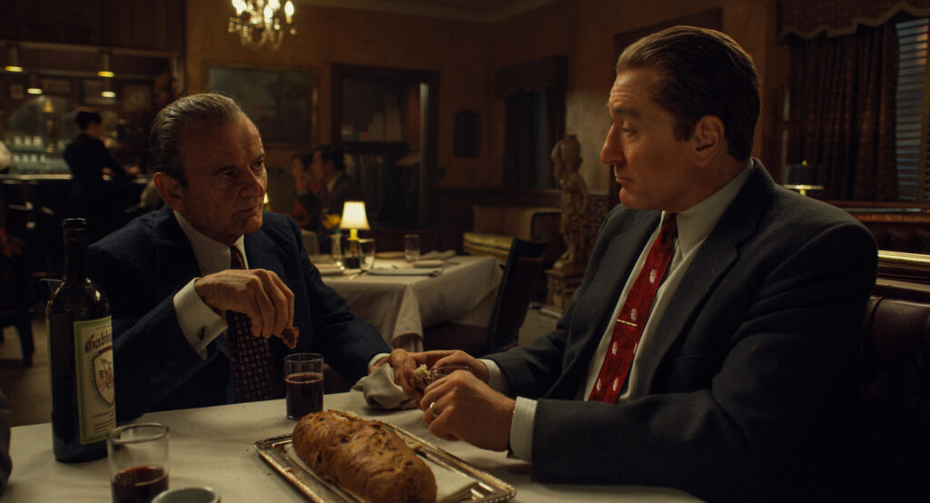 Joe Pesci e Robert De Niro repetem a parceria de Casino em O irlandês, outro filme de Martin Scorsese