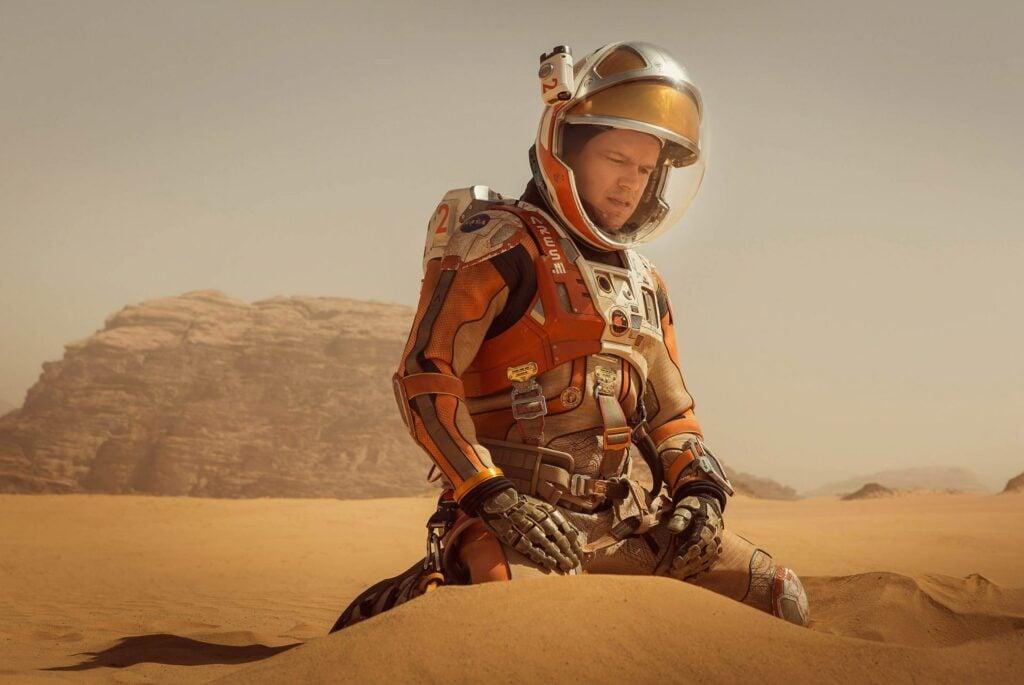 Já se imaginou perdido no planeta vermelho?