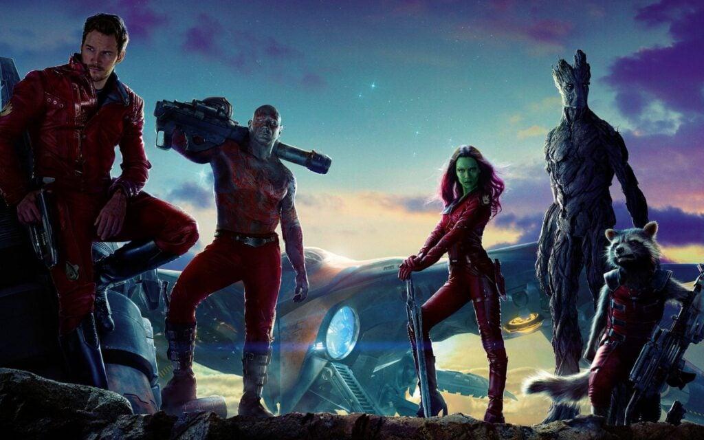 Um grupo inusitado de heróis está pronto para salvar a galáxia