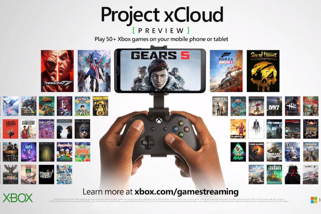 serviço de streaming do xbox one