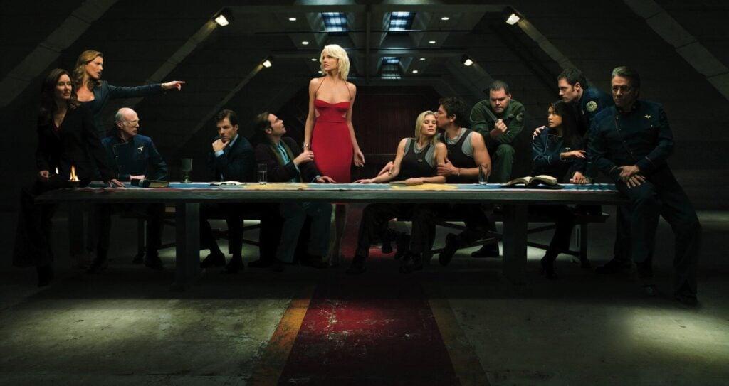 Battlestar Galactica foi uma série que bebeu do sucesso de Star Wars