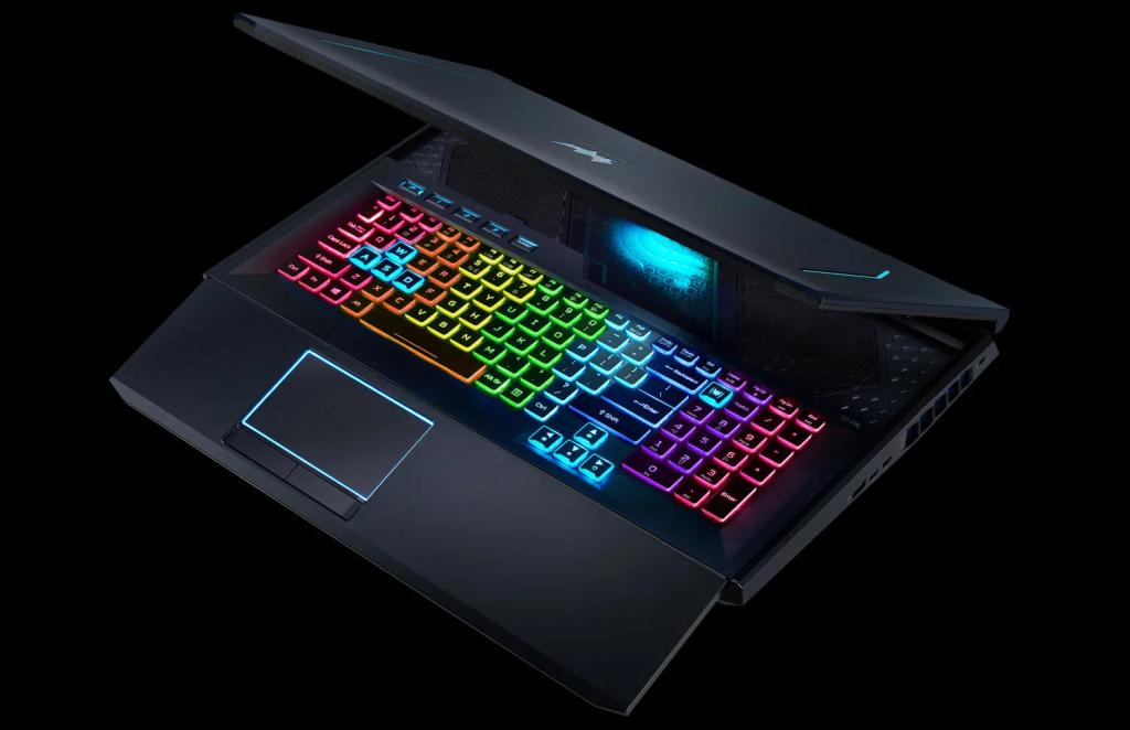 Teclas do Acer Predator Helios 700