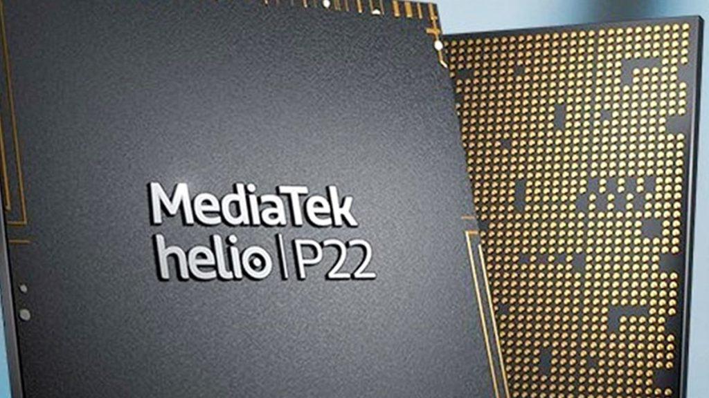 O Helio P22 é um chipset básico com clock máximo de 2.0GHz e inteligência artificial