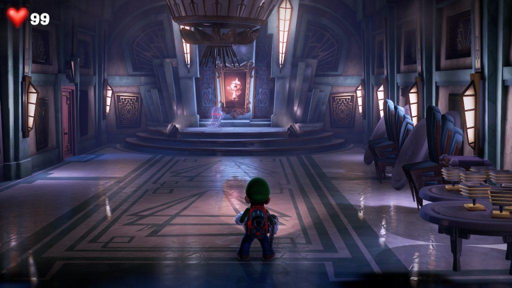 Luigi's Mansion 3 possui ótimos efeitos de luz.