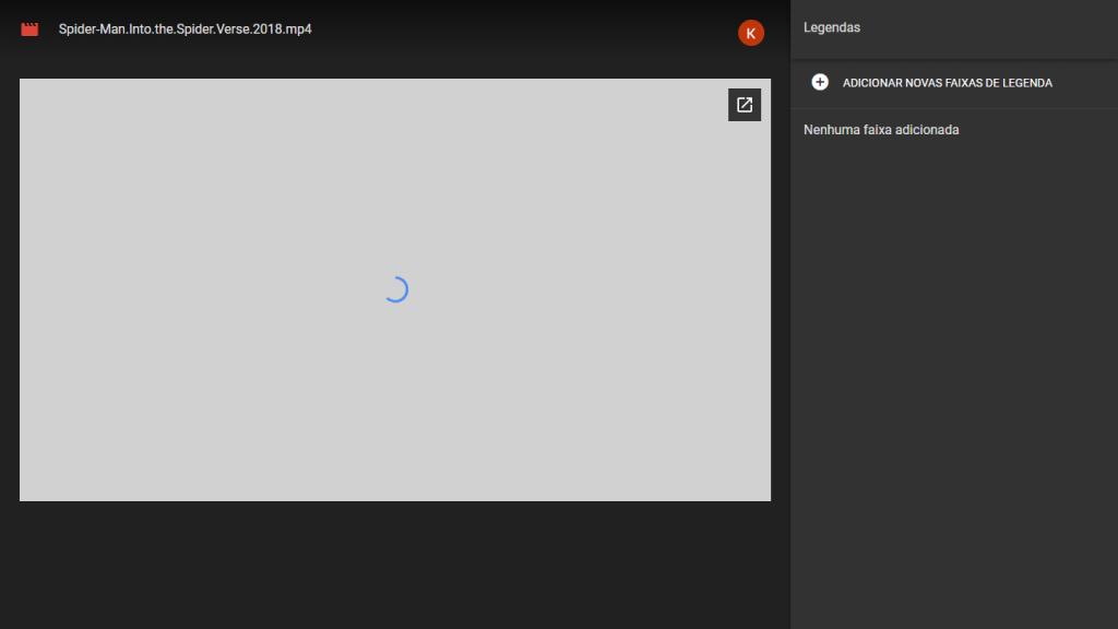 Como assistir vídeos com legendas direto no Google Drive