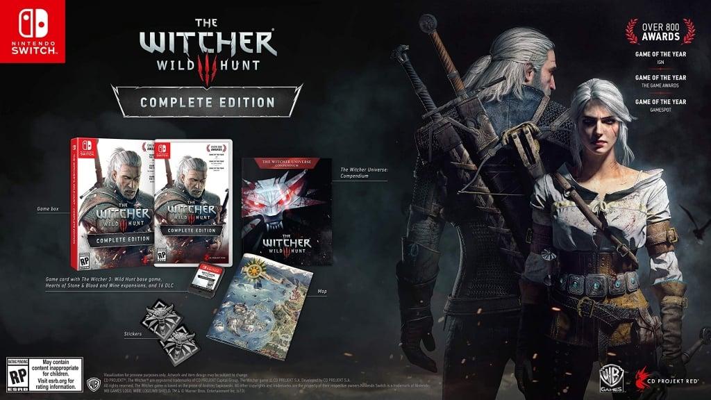 A versão digital de The Witcher 3 ocupa 28 Gb de espaço! Além de uma bela adição à sua coleção, considere pegar a cópia física do game