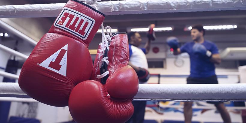 O Boxe ainda está presente e muita gente acompanha a modalidade