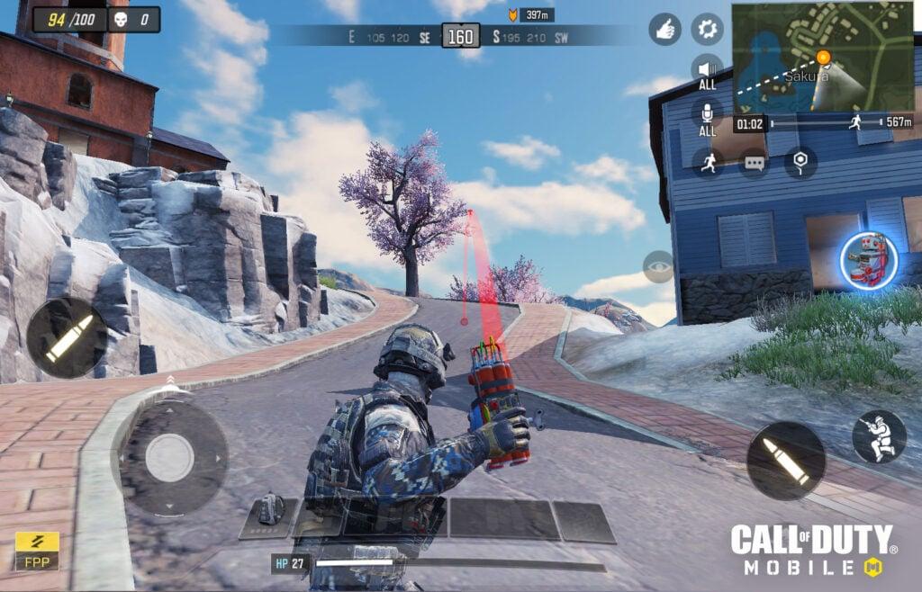 Call of Duty - Alterando visão