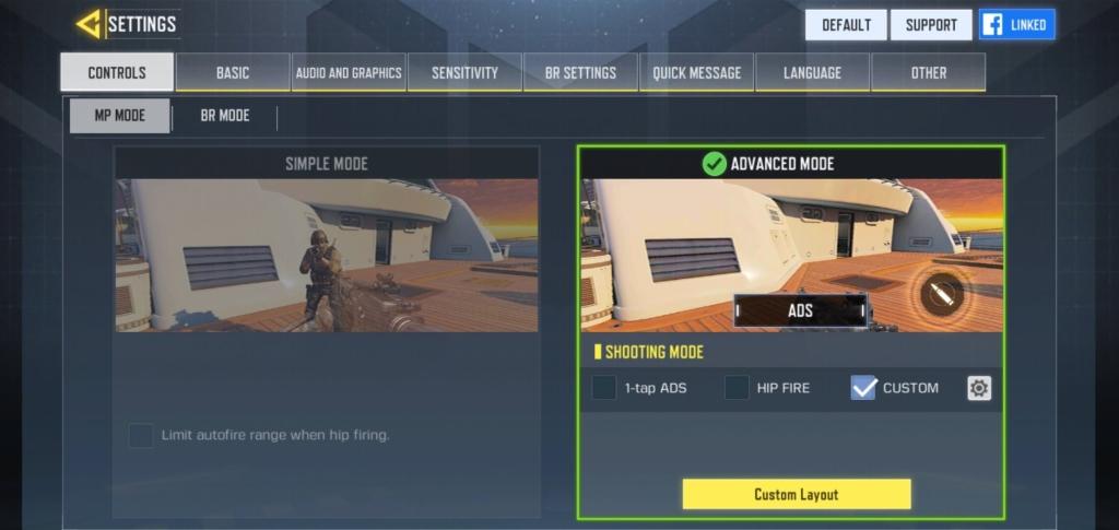 Call of Duty Mobile: Dê preferência aos controles avançados para ter mais liberdade