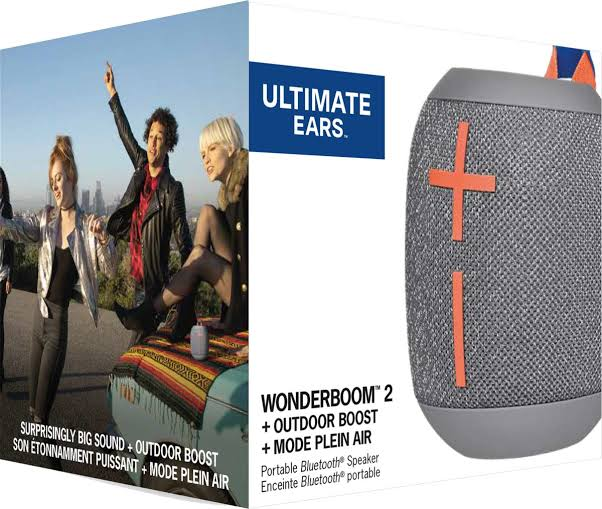 Caixa de som wonderboom 2, da ultimate ears