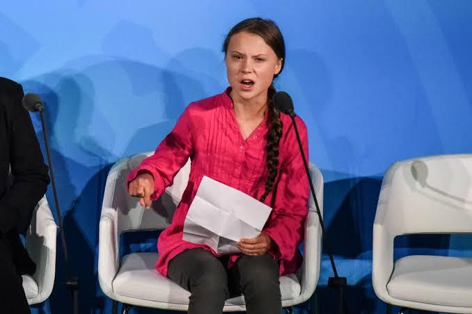 Greta Thunberg Nature pessoas marcaram ciência