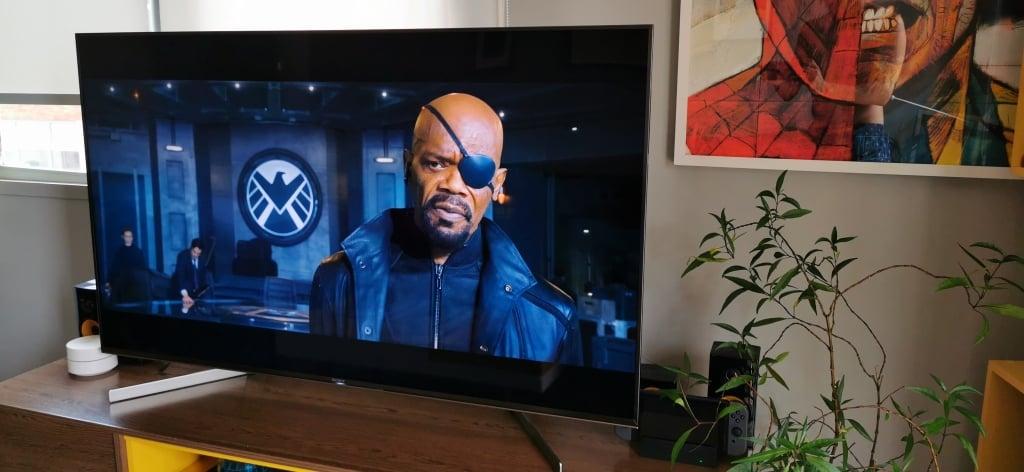 A TV Sony X855G possui um recurso que reduz a distorção da imagem quando ocorrem movimentos