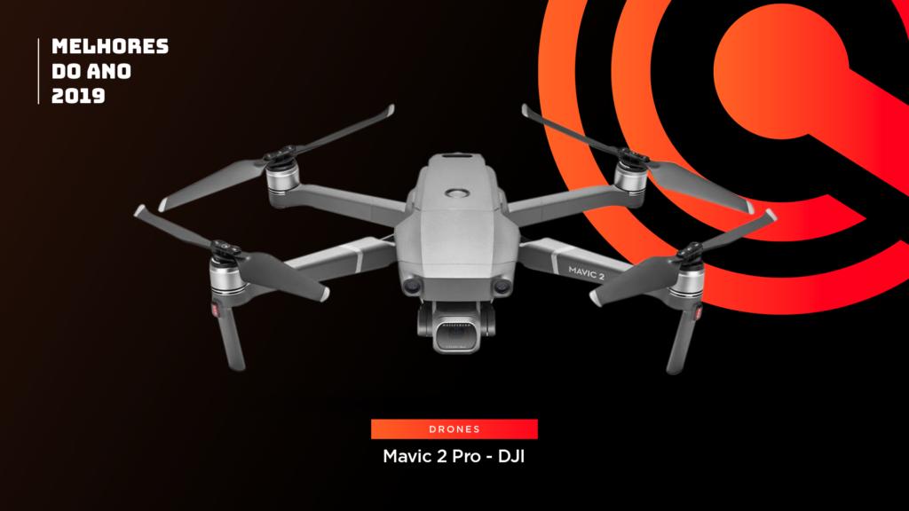 Entre os melhores do ano em drone está o DJI Mavic 2 Pro
