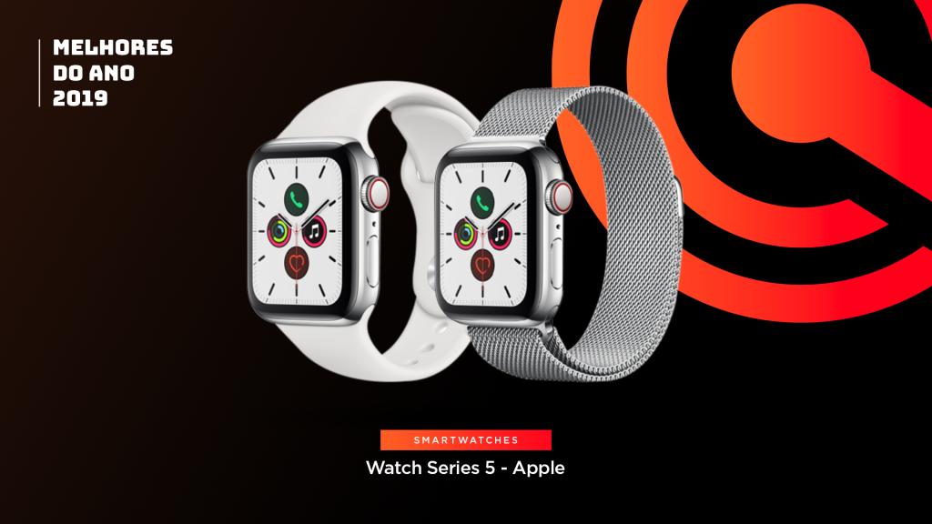 Entre os melhores do ano em smartwatch está o Apple Watch Series 5