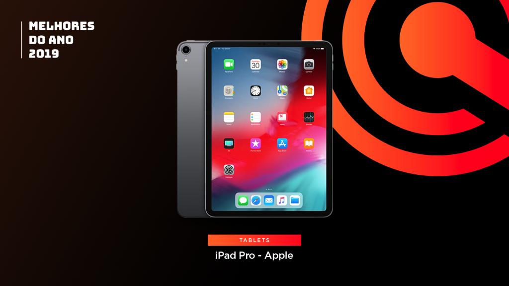Entre os melhores do ano em tablet está o Apple iPad Pro