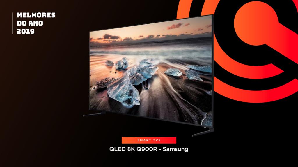 Entre os melhores do ano em TV está aSamsung QLED 8K Q900R