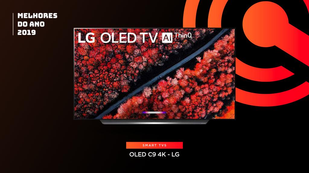 Entre os melhores do ano em TV está aLG OLED C9 4K