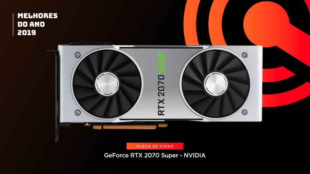 Entre os melhores do ano em placa de vídeo está o Nvidia GeForce RTX 2070 Super