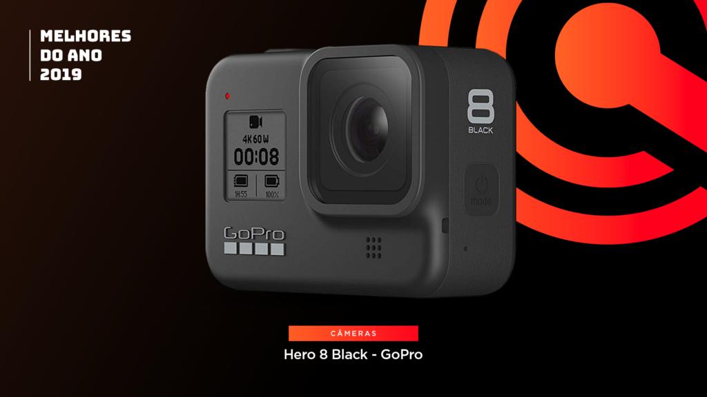 Entre os melhores do ano em câmera está aGoPro Hero 8