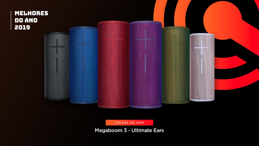 Entre os melhores do ano em caixa de som está o Logitech Ultimate Ears Megaboom 3