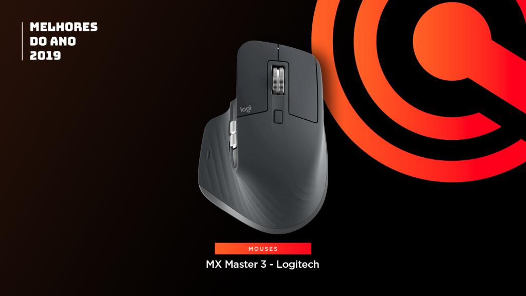 Entre os melhores do ano em mouse está o Logitech MX Master 3