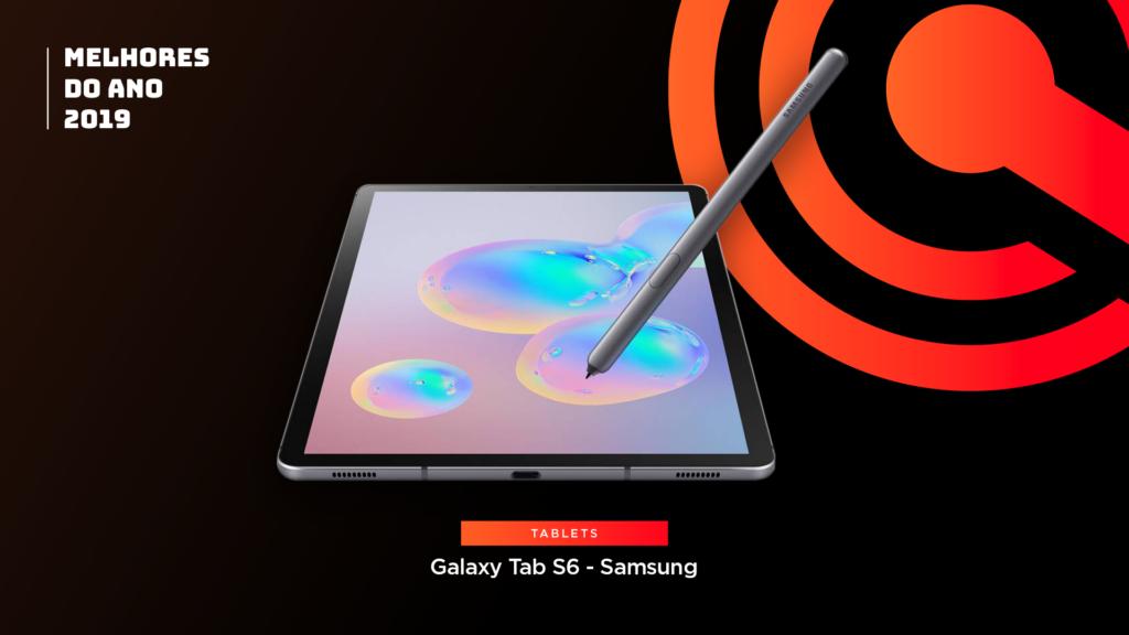 Entre os melhores do ano em tablet está o Samsung Galaxy Tab S6
