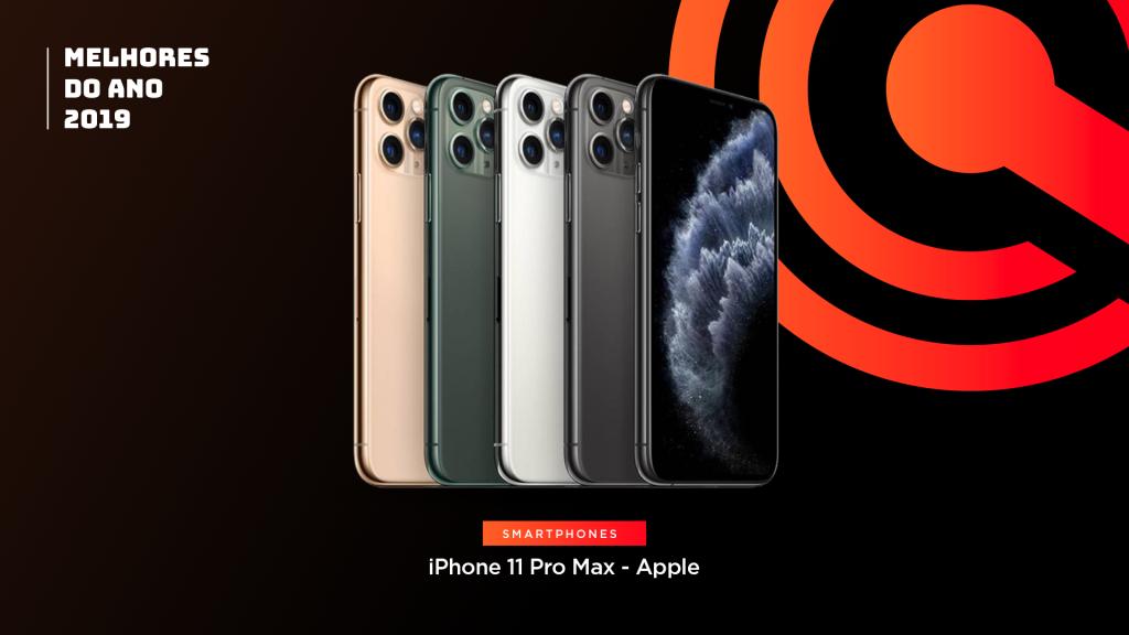 Na categoria celular, o iPhone 11 Pro Max é um dos melhores do ano