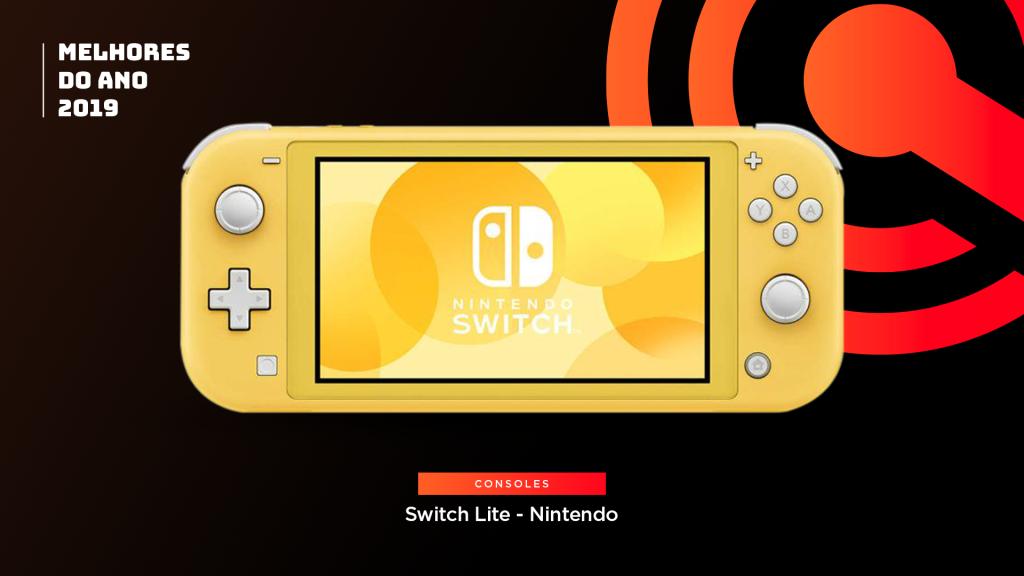 Entre os melhores do ano em game console está o Nintendo Switch Lite