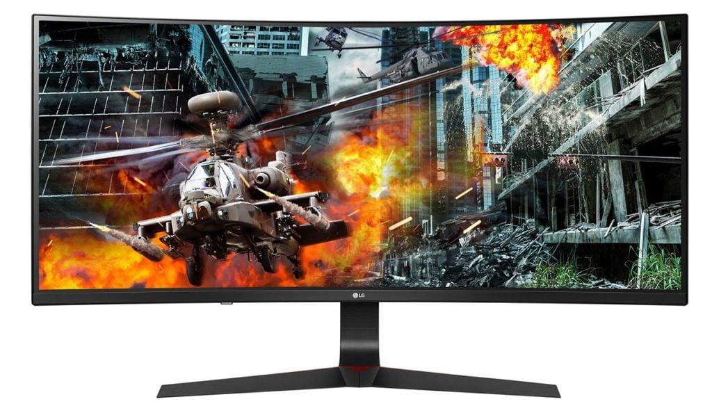 Monitor ultragear gaming wide não tem borrões devido a frequência de 144hz. Foto: reprodução
