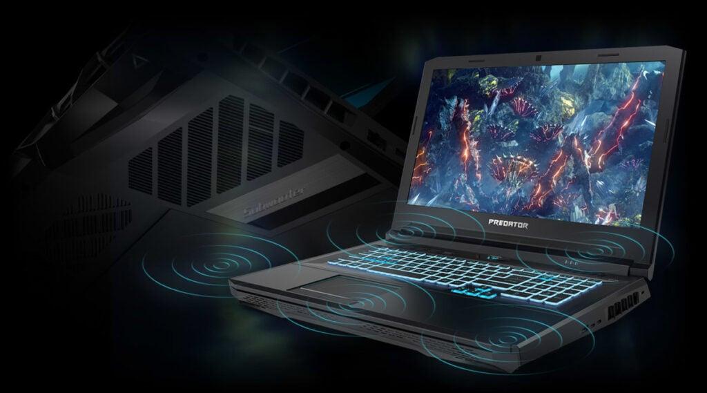 Soma do Acer Predator Helios 700