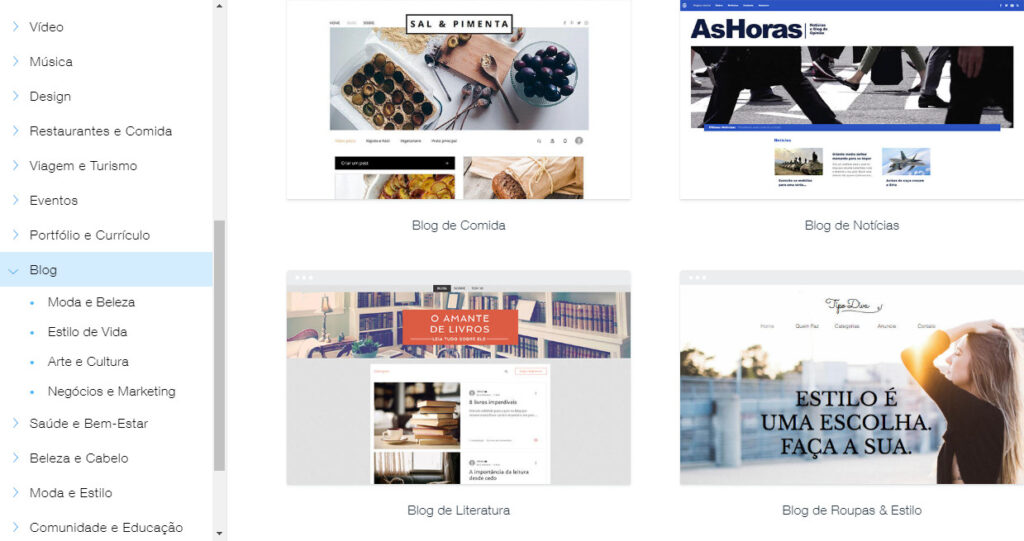 Escolher um bom template ao criar um site é um bom chamariz para que as pessoas vejam o seu site