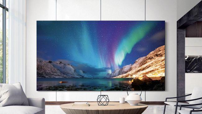 A The Wall foi apresentada na CES 2019, então poderemos ver novas tecnologias em TVs esse ano