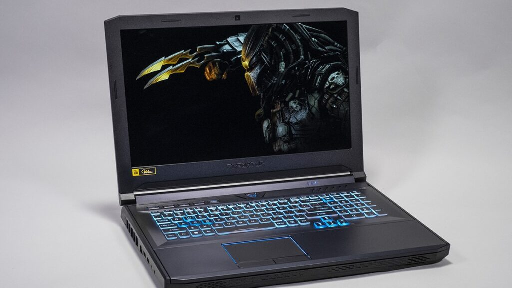 Tela do Acer Predator Helios 700