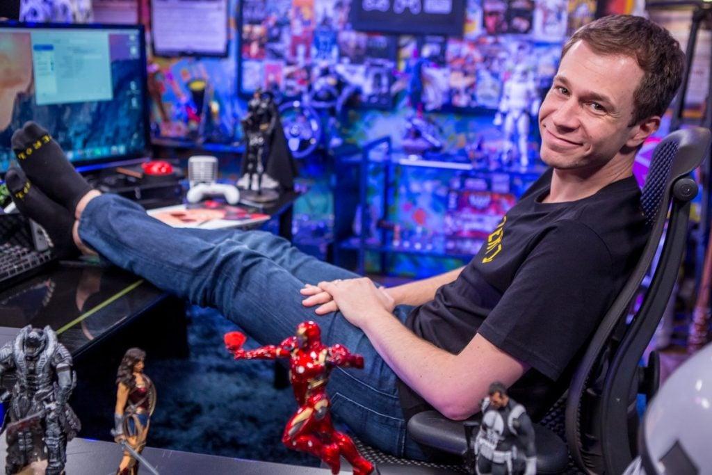 O apresentador tiago leifert saiu do bbb para apresentar este programa sobre cultura nerd